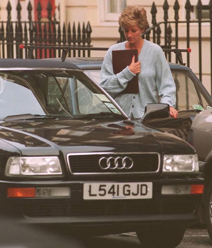Audi Quatro принцеси діани