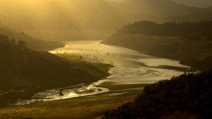 каліфорнія річка