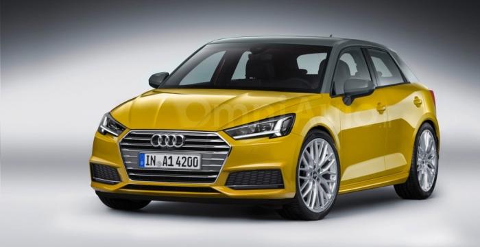 Audi A1 рендер