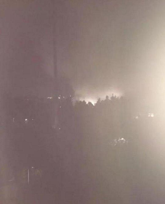 вибухи на фабриці в Китаї