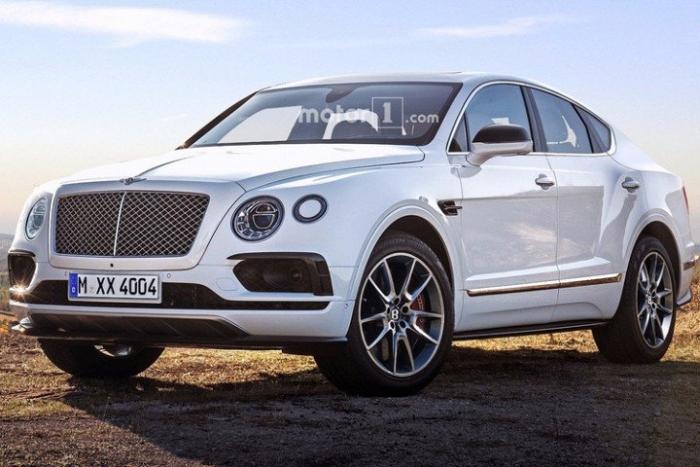 крос-купе Bentley ескіз