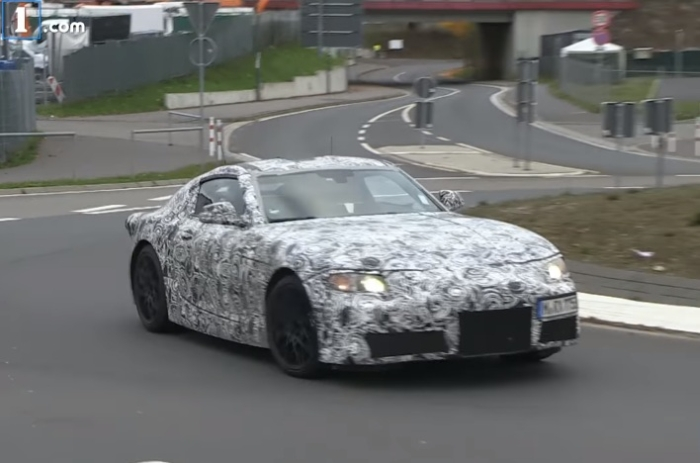 Toyota Supra 2017  нюрбургринг