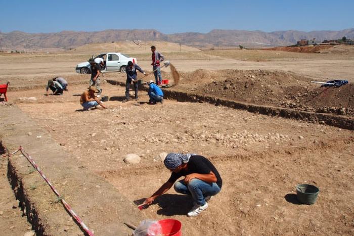 розкопки Сирія