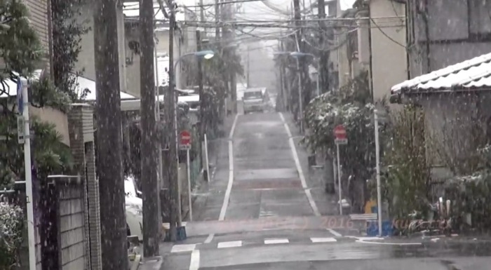 сніг японія