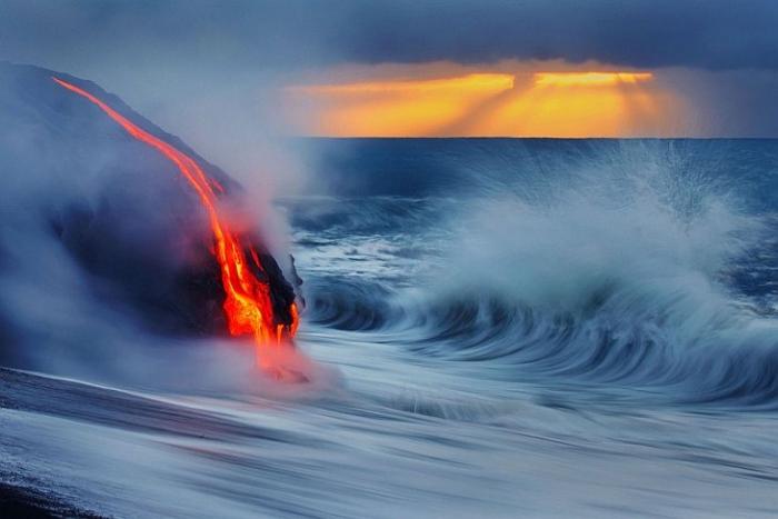виверження океан