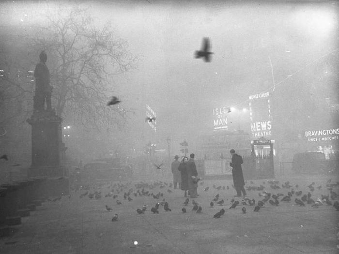 британія туман 1952