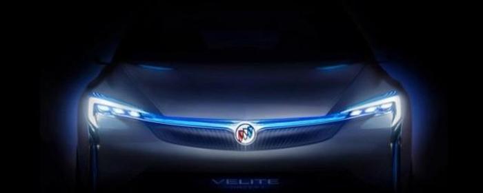 Buick Velite тизер