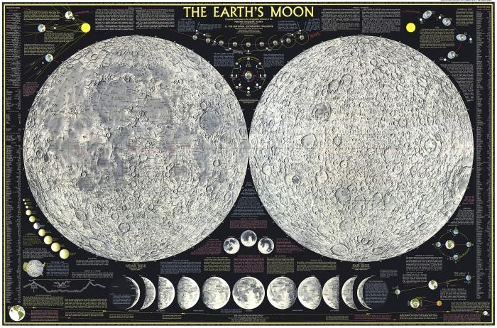 карта місяця