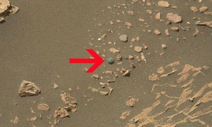 куля p з мармуру Марс
