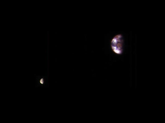 від землі з марсу