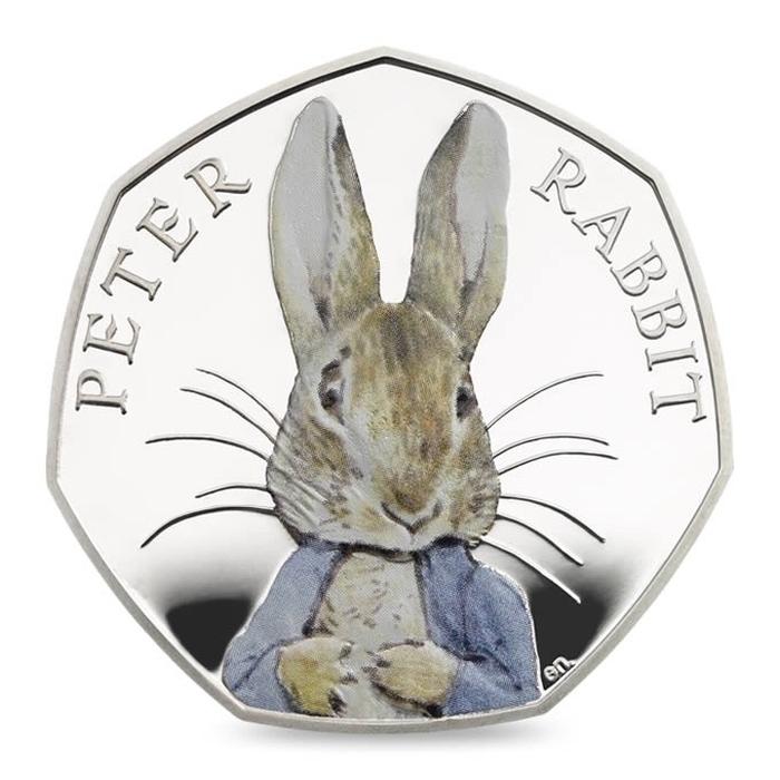 монета в честь Беатріс Поттер