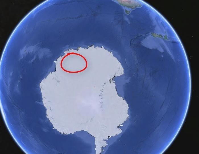 база інопланетян антарктида