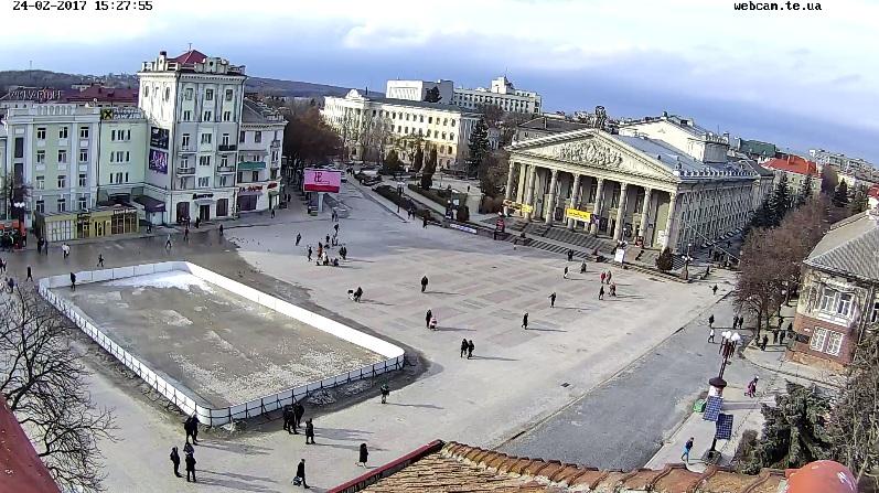 Веб-камер в Тернополі стає все більше