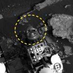 на Марсі схожий на ящірку об'єкт