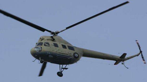 військовий гелікоптер Мі-2