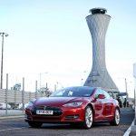 Tesla зарядні станції