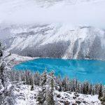 Озеро Пейто в Канаді