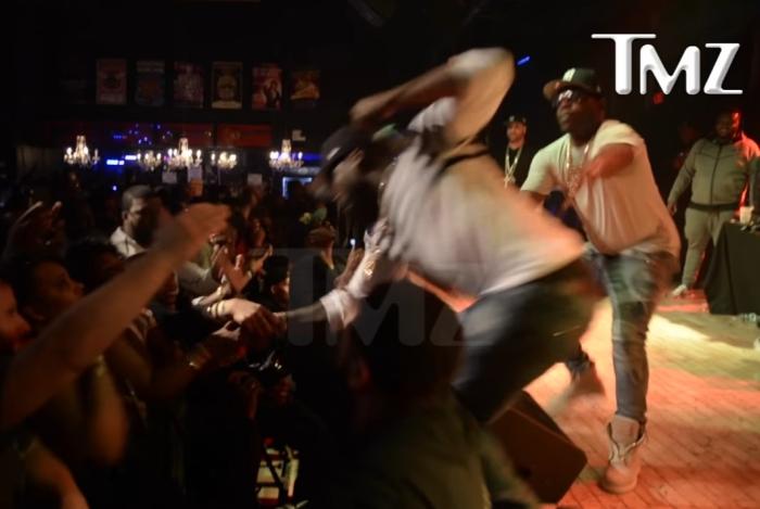 50 Cent вдарив фанатку