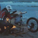 дерев'яний мотоцикл