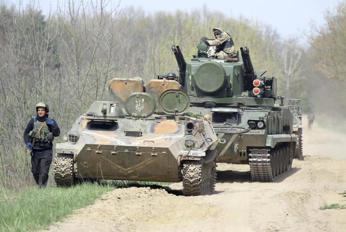 навчання танкової бригади