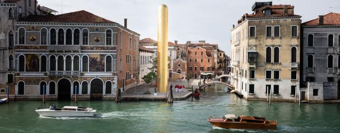 венеція золота статуя