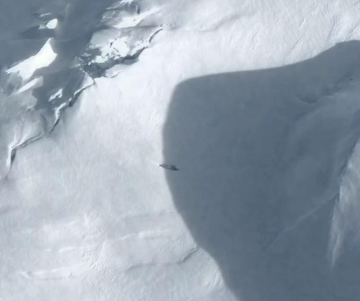 нло над антарктидою