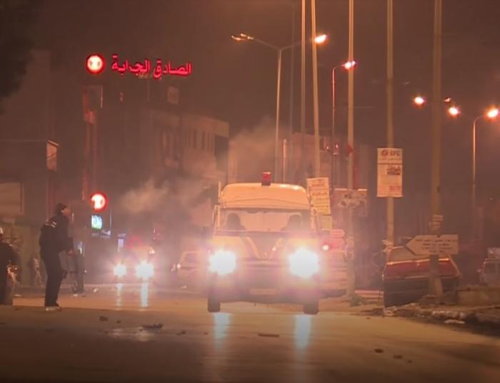 туніс протести