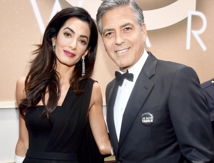 Джордж та Аманда Клуні