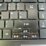 брудна клавіатура
