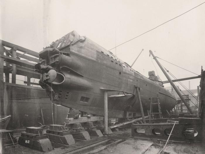 підводний човен нацистів