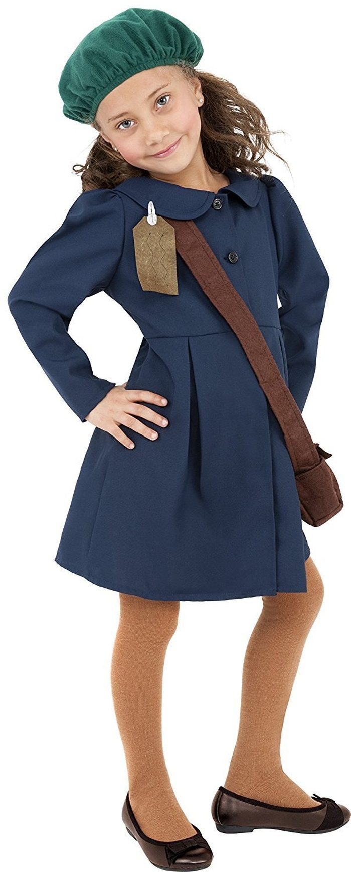 костюм в стилі єврейської дівчинки Анни Франк
