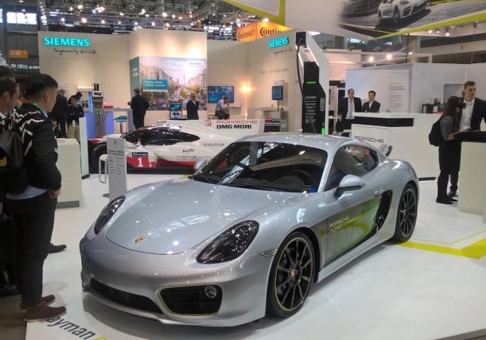 Porsche Cayman Evolution