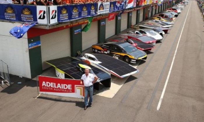 перегони автомобілів на сонячних батареях