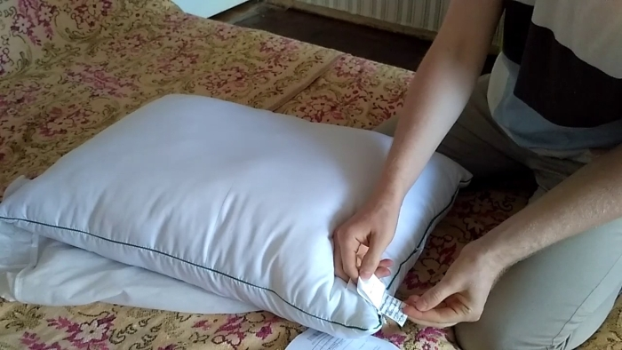 шовкова подушка