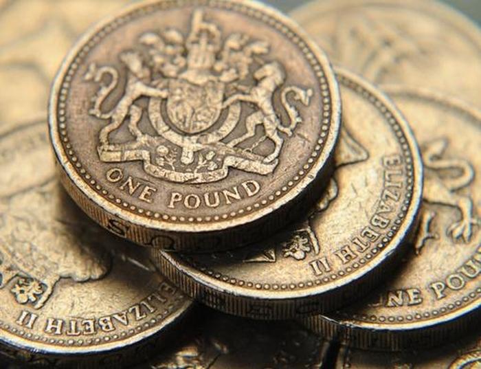 монети великобританії