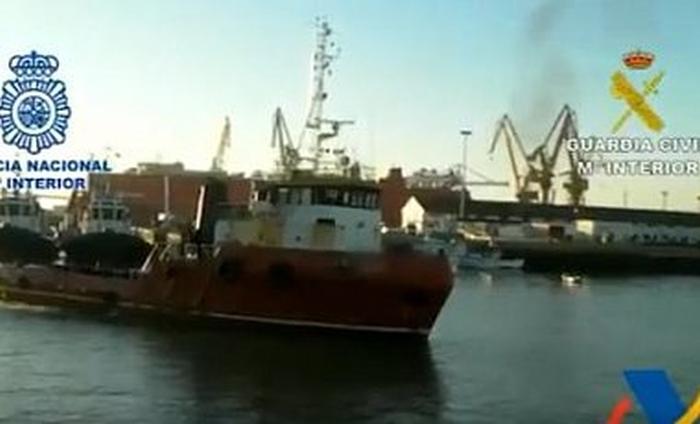 корабель з майже 4 тоннами кокаїну