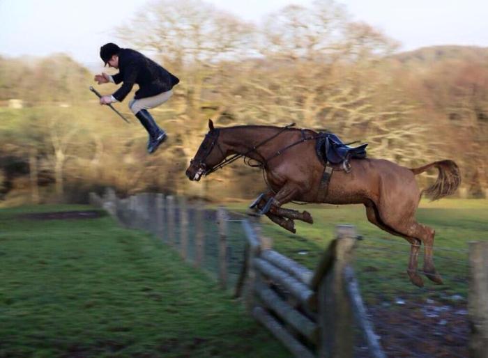 коні та люди