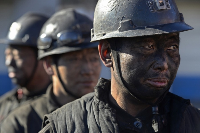 шахтарі китай