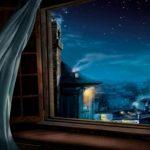відкрите вікно ніч