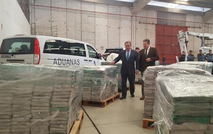 6 тонн кокаїну іспанія