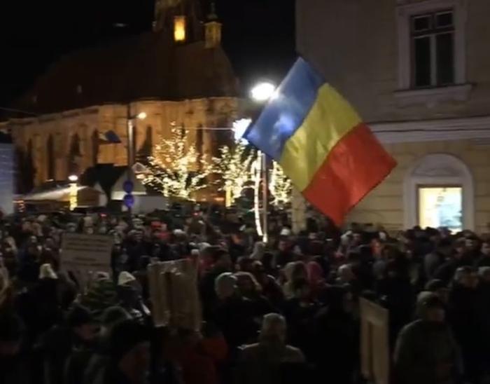 румунія протести