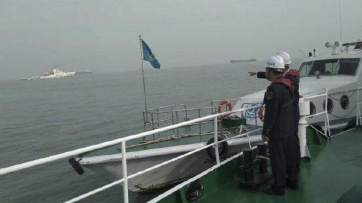у китаї зіткнулись вантажні судна