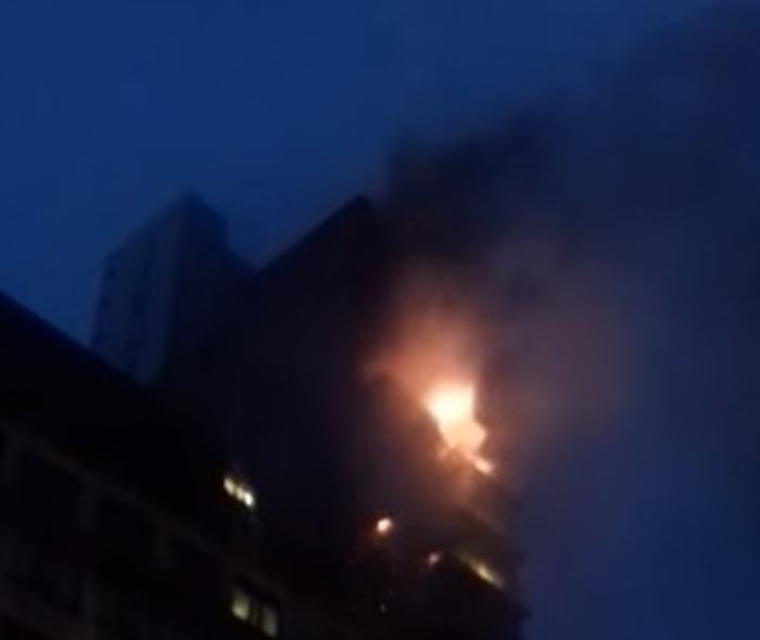 пожежа в багатоповерховому будинку