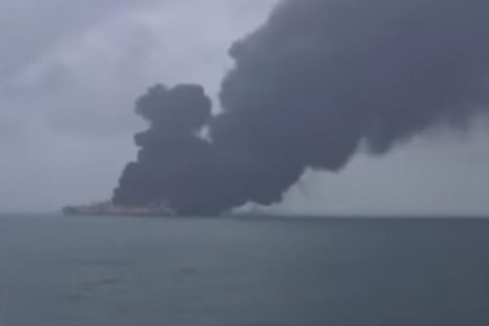Іранський нафтовий танкер