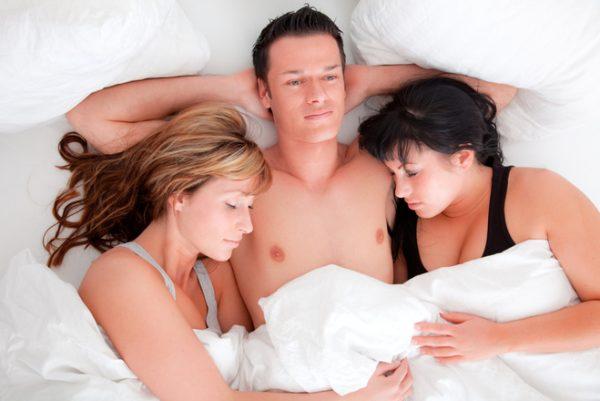 Удовольствие от группового секса