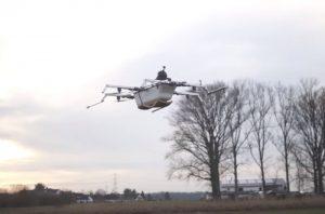 У Німеччині винахідники створили літаючу ванну (відео)