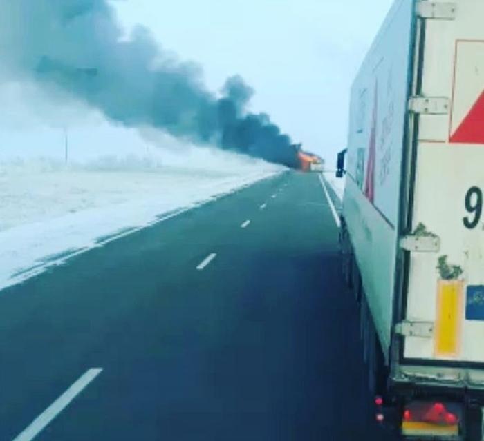 загоряння автобуса казахстан