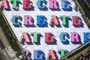 У Лондоні з'явилося графіті на 17,5 тис. квадратних метрів