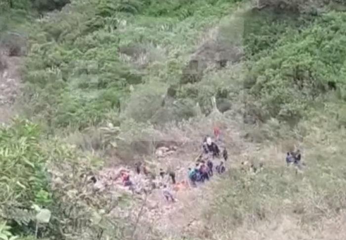 автобус впав у прірву колумбія
