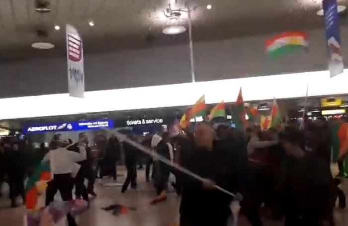 бійка турків та курдів